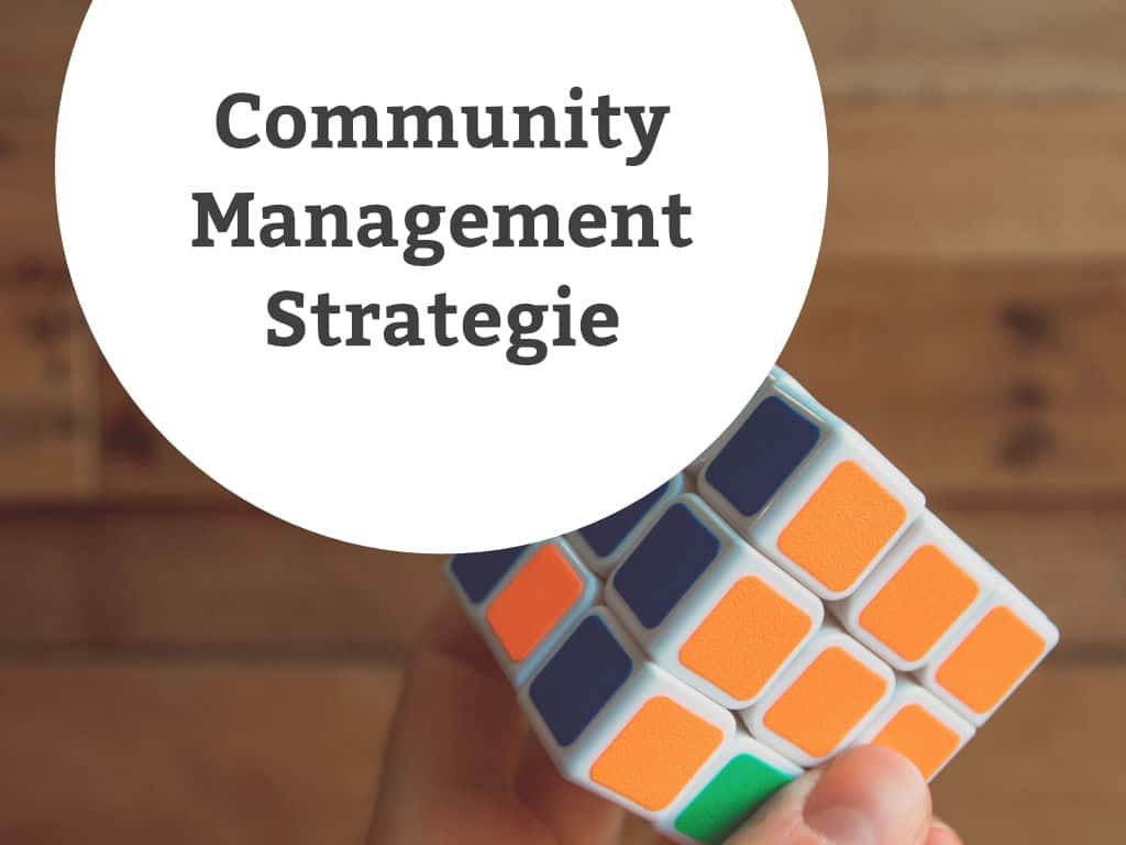 Community Management Strategie
