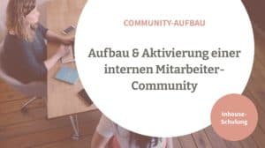Interne Mitarbeiter Community